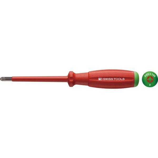 PB SWISS TOOLS 58192-2-100 スイスGrip・ポジドライバー絶縁