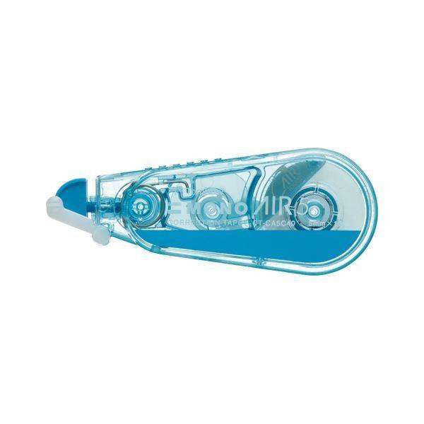 (まとめ) トンボ鉛筆 修正テープ モノエアー 5C ブルー〔×50セット〕