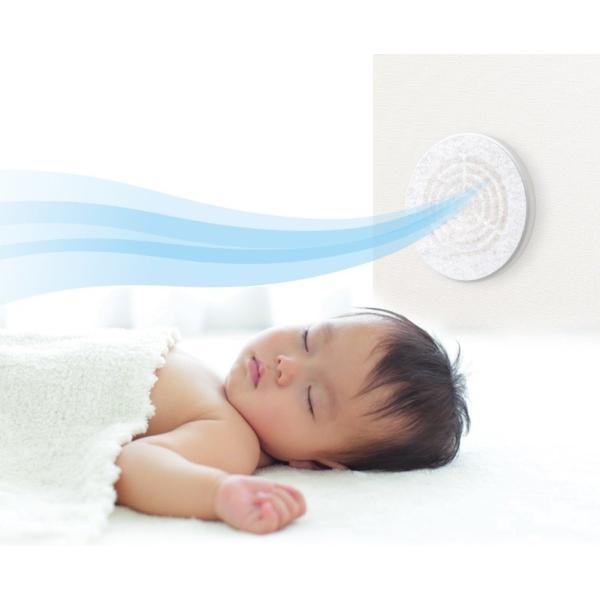 通気口用フィルター PM2.5や花粉を静電気の力でキャッチ 20cm×20cm (2枚入り)|pc-zakka|06