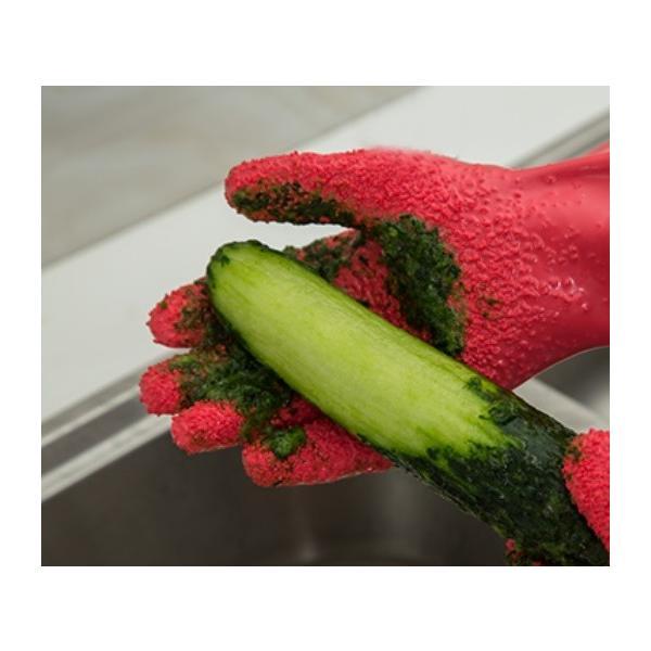 皮むき用 手袋 ピラーグローブ (左手/右手 セット)|pc-zakka|07