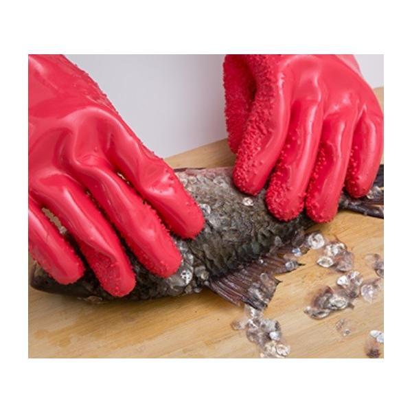 皮むき用 手袋 ピラーグローブ (左手/右手 セット)|pc-zakka|08