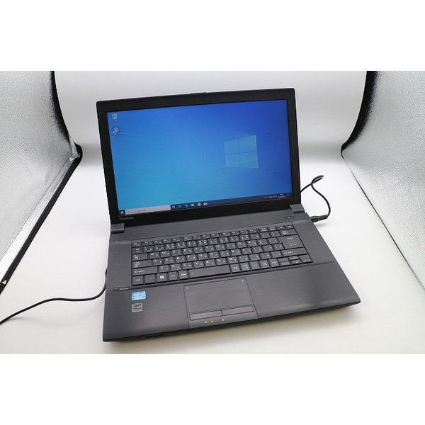 東芝 Dynabook Satellite B553/J Corei3/15.6インチ/SSD120GB搭載/ノートパソコン