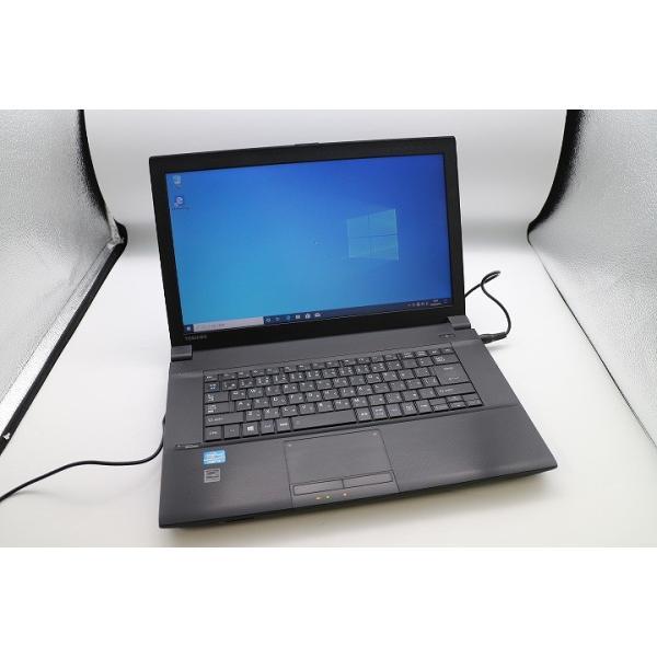 東芝 Dynabook Satellite B553/J Corei3/15.6インチ/HDD320GB搭載/ノートパソコン