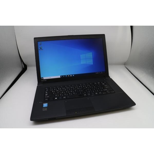 訳あり東芝DynabookB554/MCorei5/15.6インチ/ノートパソコン/SSD120GB/Windows10キーかす