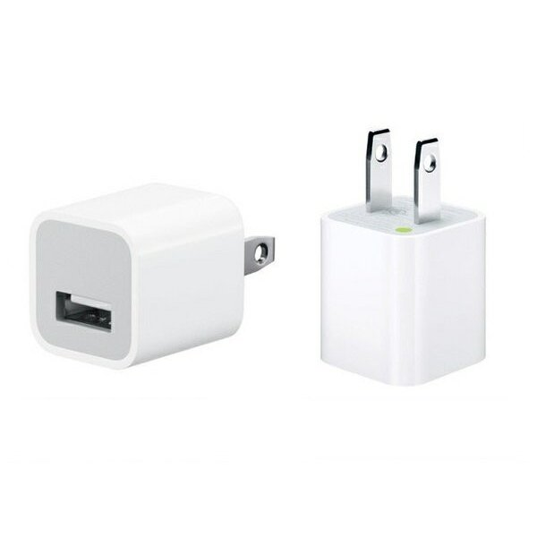 APPLE iPod/iPhone用USB電源アダプター MD810LL/A(5W USB Power Adapter)の画像