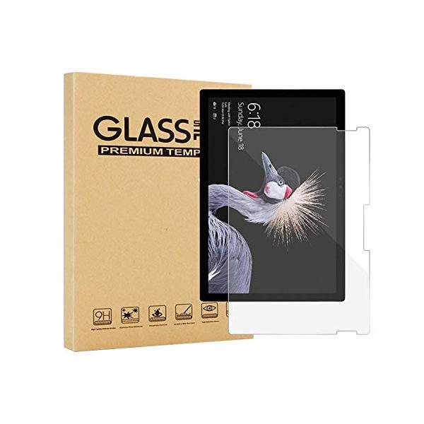 サーフィスガラスフィルムSurfaceGo2強化ガラス液晶保護フィルム耐指紋撥油性9H0.3mm2.5Dラウンドエッジ加工