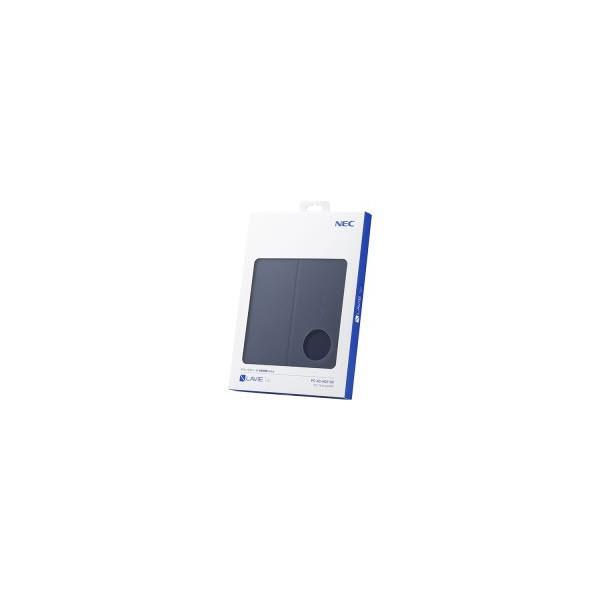 NEC LAVIE Tab E 専用カバー PC-AC-AD013C ネイビーブルーの画像
