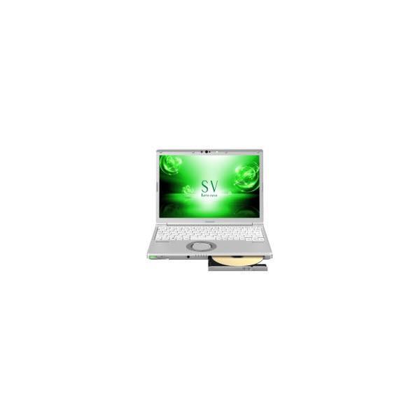 Panasonic CF-SV73DTQR ノートパソコン Let's note(レッツノート)SVシリーズ シルバー [12.1型 /intel Core i7 /SSD:256GB /メモリ:8GB /2018年6月モデル]の画像