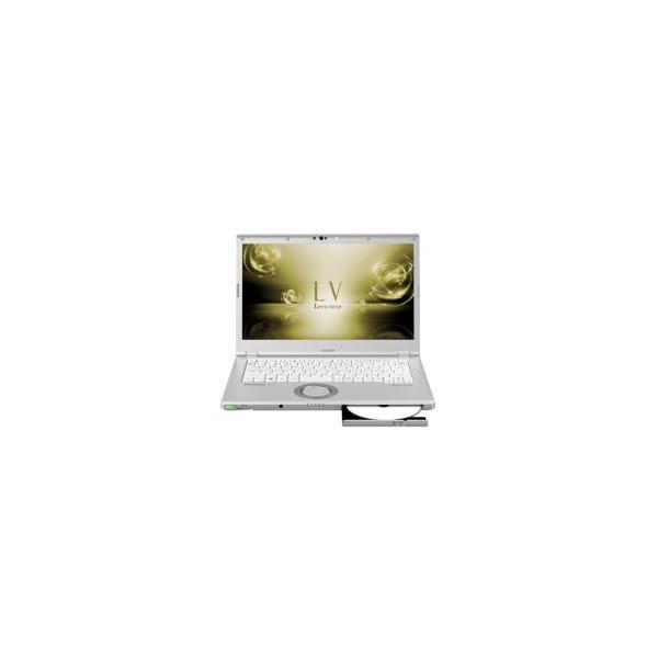 Panasonic CF-LV7JDVQR ノートパソコン Let's note(レッツノート) LVシリーズ シルバー [14.0型 /intel Core i7 /SSD:512GB /メモリ:8GB /2018年10月モデル]の画像