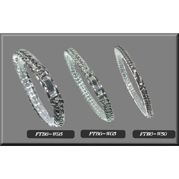 チタンブレスレット【FTB6-W95】チタン100%鏡面喜平ダブル六面ブレスレット[幅9.5mmX3.5mm] pcclub 05