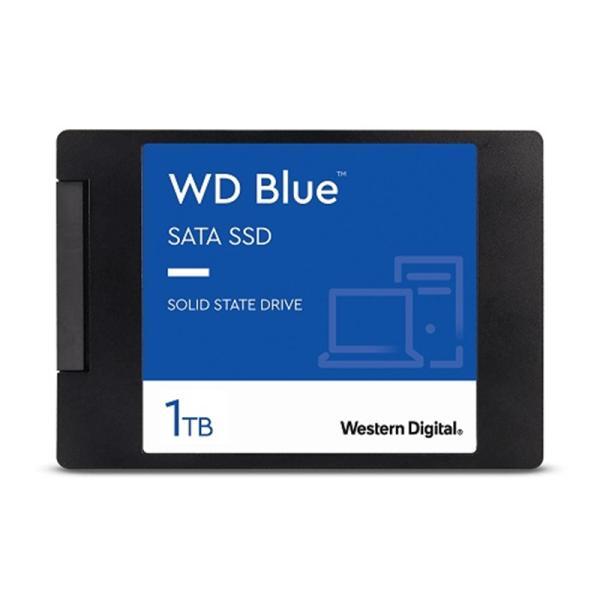 WESTERN DIGITAL WD Blue 3D NANDシリーズ SSD 1TB SATA 6Gb/s 2.5インチ 7mm cased 国内正規代理店品 WDS100T2B0A  代理店1年保証