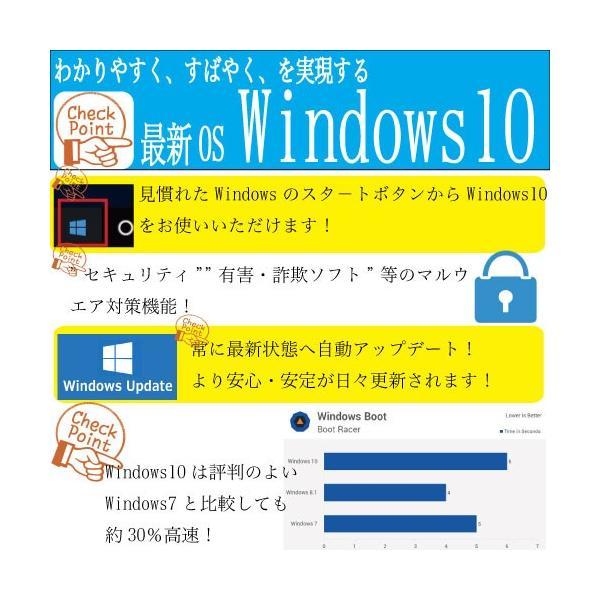 デスクトップパソコン 中古パソコン 正規 Windows10 第3世代 Core i7 新品SSD HDD メモリ8GB 22型 Office付き DELL 7010SF 0347S pchands 13