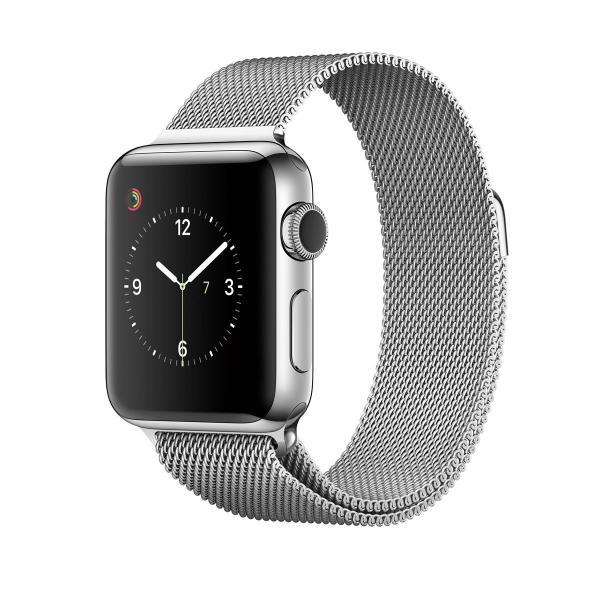 中古 apple watch アップルウォッチ 本体 Apple Watch Series 2 42mm ステンレススチール MNTX2J/A Apple Bランク