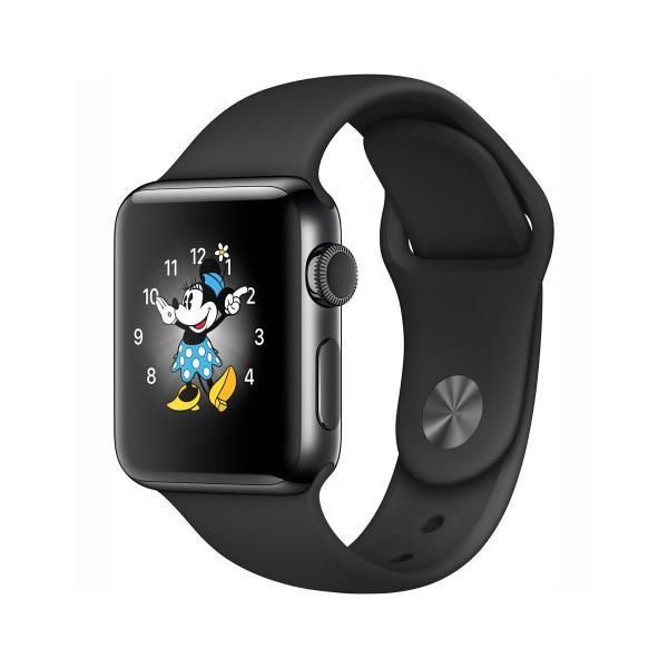 中古 apple watch アップルウォッチ 本体 Apple Watch Series 2 38mm ステンレススチール [スペースブラック] MP4D2J/A