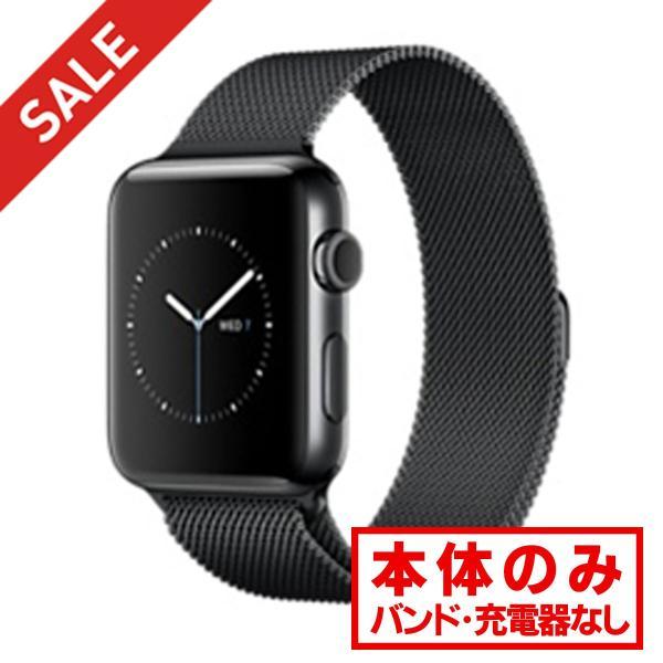 apple watch アップルウォッチ 本体 Apple Watch Series 2 42mm ステンレススチール [スペースブラック] MP4E2J/A Apple