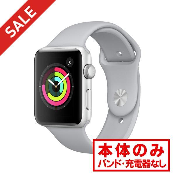 中古 apple watch アップルウォッチ 本体 Apple Watch Nike+ Series 3 GPSモデル 38mm アルミニウム [シルバー] MQKX2J/A Apple