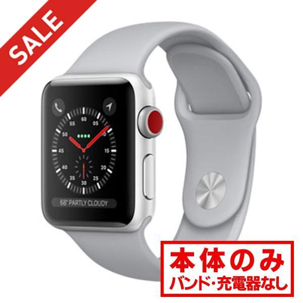 apple watch アップルウォッチ 本体 Apple Watch Nike+ Series 3 GPS + Cellularモデル 42mm アルミニウム [シルバー] MQME2J/A