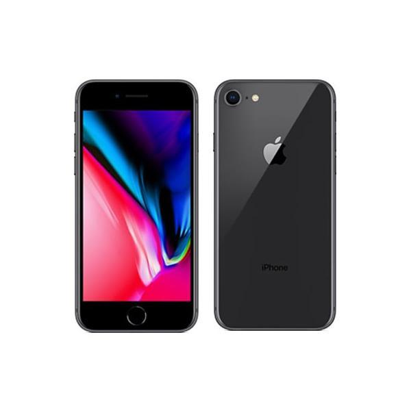 開封済・新品Apple iPhone8 SIMフリー MQ842J/A 256GB スペースグレイ アイフォン