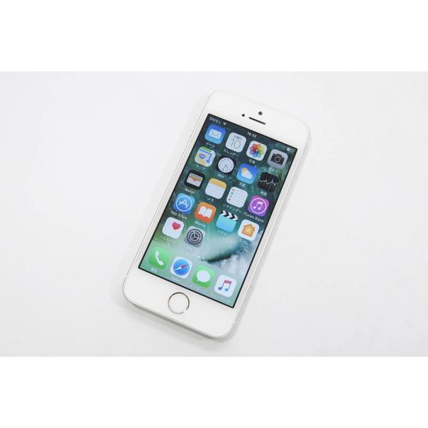 中古 スマホ 本体 iPhone SE au KDDI 16GB シルバー MLLP2J/A Apple 格安【 Cランク】|pcjungle|03