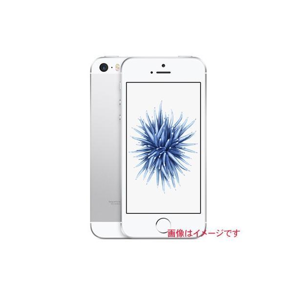 iPhone SE 16GB シルバー (MLLP2J/A) docomoの画像