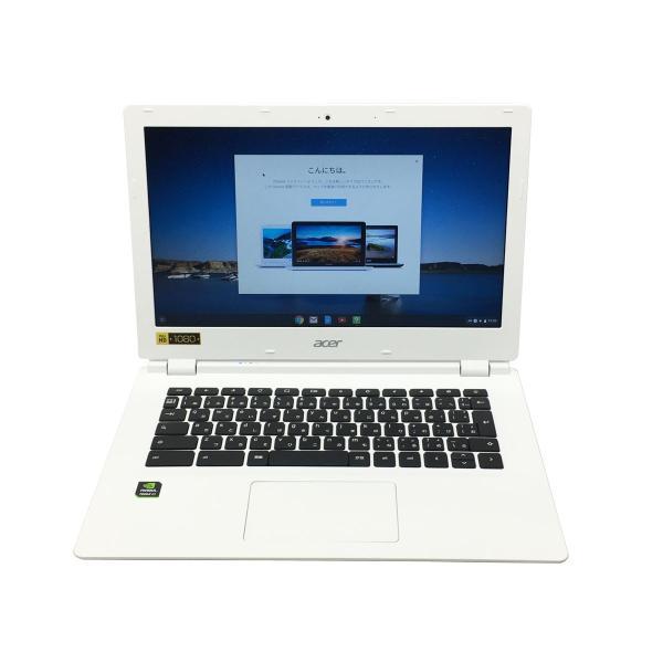 中古ノートパソコン Chromebook13 CB5-311 acer エイサー ChromeOS NVIDIA Tegra K1 2.10GHz メモリ4GB eMMC32GB クロームブック 中古ノートPC Bランク