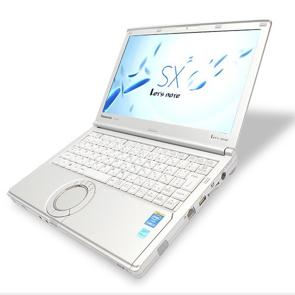 Panasonic ノートパソコン 中古パソコン Let'snote SX3シリーズ Core i5 4GBメモリ 12.1インチ Windows10 WPS Office 付き|pckujira|02