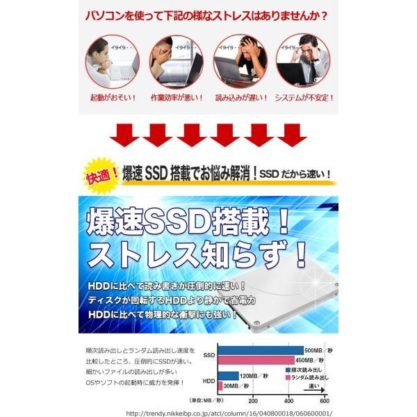 デスクトップパソコン 安い 中古パソコン 店長おまかせhpデスクトップ デュアルコア 4GBメモリ 19インチ Windows10 WPS Office付き|pckujira|04