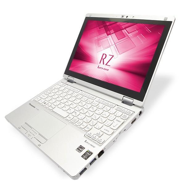 Panasonic ノートパソコン 中古パソコン SSD Let'snote CF-RZ4 訳あり Core M 4GBメモリ 10.1インチ Windows7 WPS Office 付き|pckujira|02