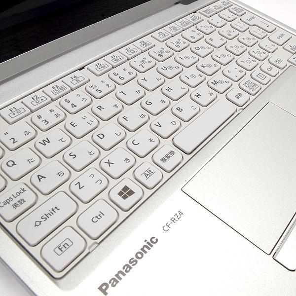 Panasonic ノートパソコン 中古パソコン SSD Let'snote CF-RZ4 訳あり Core M 4GBメモリ 10.1インチ Windows7 WPS Office 付き|pckujira|03