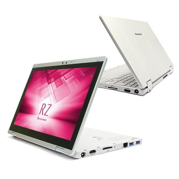 Panasonic ノートパソコン 中古パソコン SSD Let'snote CF-RZ4 訳あり Core M 4GBメモリ 10.1インチ Windows7 WPS Office 付き|pckujira|04