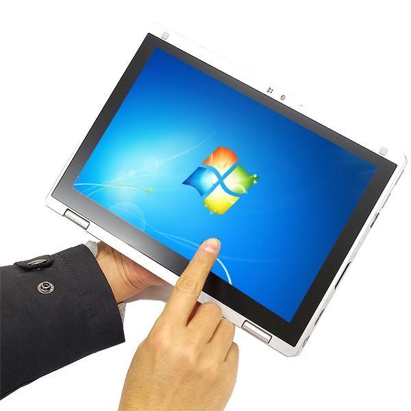 Panasonic ノートパソコン 中古パソコン SSD Let'snote CF-RZ4 訳あり Core M 4GBメモリ 10.1インチ Windows7 WPS Office 付き|pckujira|05