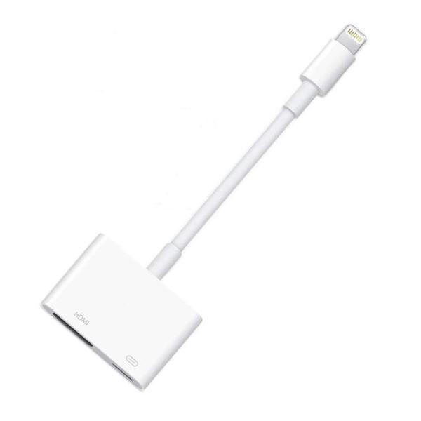 新品 Lightning HDMI 変換ケーブル,Lightning Digital 互換AVアダプタ 同時に映像と音声を伝送する iPhone/iPad/ipod対応【最新のiOS12対応可能】「MD826AM/A」|pclife|02