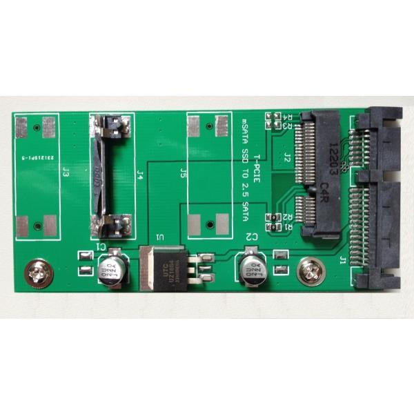 mSATA(Mini SATA)→2.5インチ SATA変換アダプター