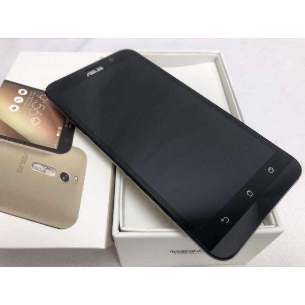 ZenFone 2 64GB ゴールド SIMフリーの画像