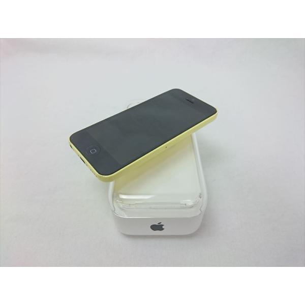 iPhone5C 32GB イエロー (MF150J/A) auの画像