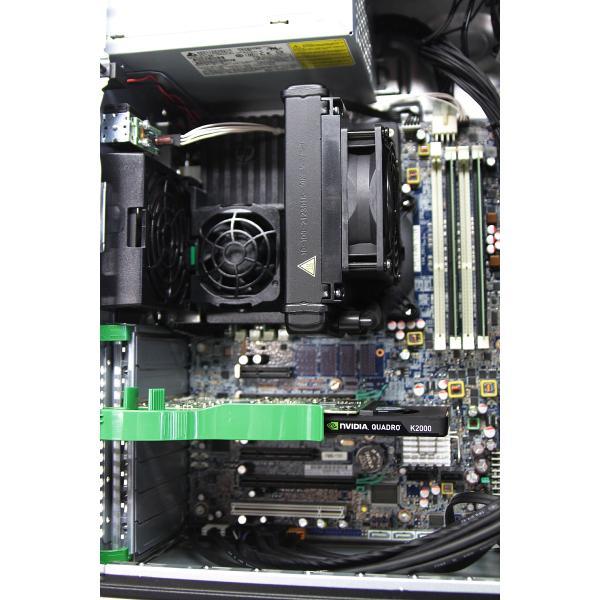 hp Z420 Workstation 水冷式 Xeon E5-1650 v2 3 5GHz 6コア/16GB/SSD