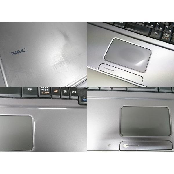 中古 ノートパソコン NEC N106Aw2 わけあり特価 VY22MA-T (Celeron 2.1GHz 3GB 160GB DVDマルチ Windows7 Professional 32bit)|pcshop-pax|04