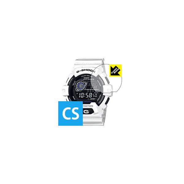 G-SHOCK GW-8900シリーズ 防気泡・フッ素防汚コート!光沢保護フィルム Crystal Shield 3枚セット