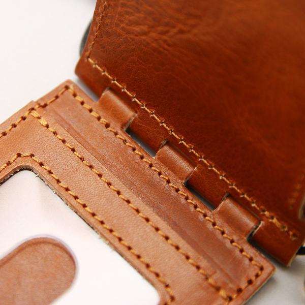 【ネコポス】ネックポーチ 小銭入れ 本革 レザー IDケース 財布 二つ折り パスケース 首掛け AGILITY affa アジリティアッファ フィユテ[M便 3/3]|pdd|11