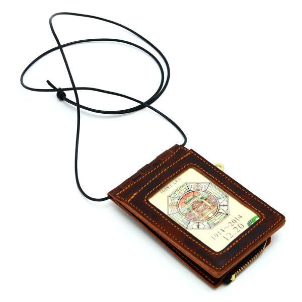 【ネコポス】ネックポーチ 小銭入れ 本革 レザー IDケース 財布 二つ折り パスケース 首掛け AGILITY affa アジリティアッファ フィユテ[M便 3/3]|pdd|17