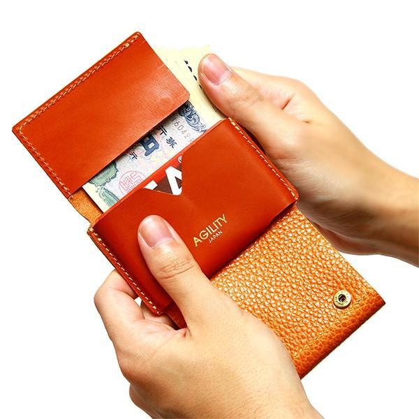 ミニ財布 小さい財布 ミニウォレット コンパクト ミニマリスト ミニマル AGILITY affa アジリティアッファ ナノウォレット pdd 13