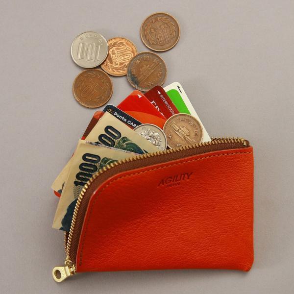 【ネコポス】財布 極小財布 コインケース 小銭入れ カードケース ミニ財布 コンパクト AGILITY affa アジリティアッファ マイクロウォレット[M便 3/3]|pdd|10