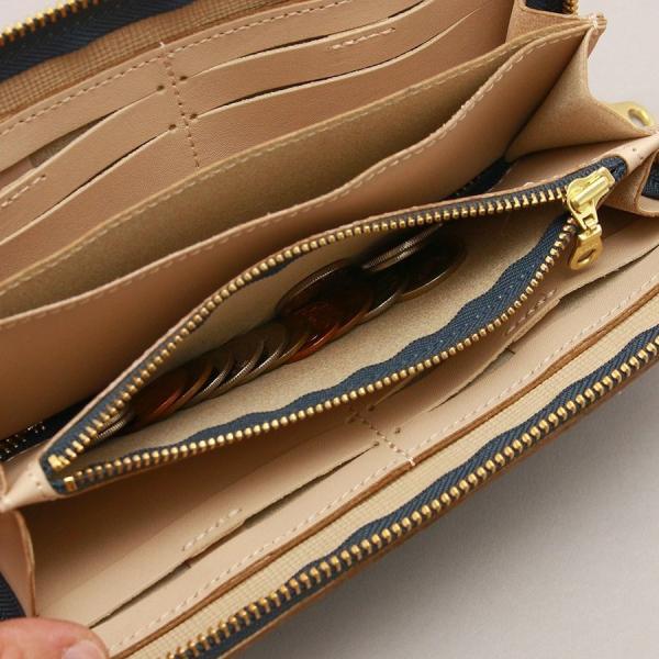 長財布 花柄 型押し 牛革 日本製 おしゃれ かわいい レディース ロングウォレット フラワー AGILITY affa アジリティ アッファ グロット pdd 12