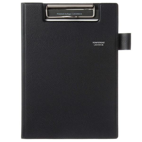 ラコニック 手帳 2019年 A5 マンスリー PVCカバー 黒 LUM08-220BK (2019年3月始まり)|peace-maker