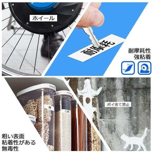 カシオ用 ネームランド 互換 テープカートリッジ 9mm 自由選択 3個セット ラベルライター テープ ラベル シール 保証付き CASIO KL-TF7 KL-T70 KL-P40 peacefulbear 08