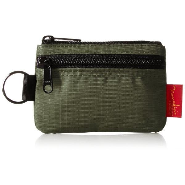 [ノーマディック] 財布 小銭入れ 2段ファスナー財布 WA-12 カーキ|peaces