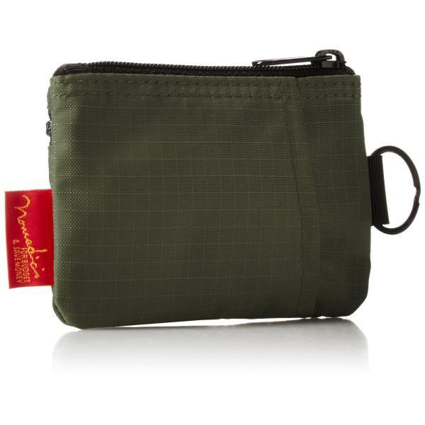 [ノーマディック] 財布 小銭入れ 2段ファスナー財布 WA-12 カーキ|peaces|02