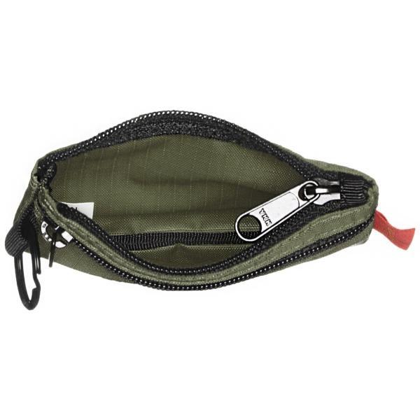 [ノーマディック] 財布 小銭入れ 2段ファスナー財布 WA-12 カーキ|peaces|04