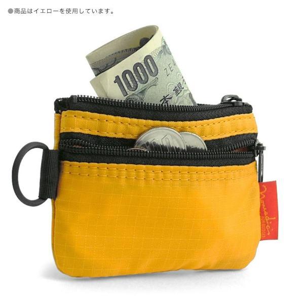 [ノーマディック] 財布 小銭入れ 2段ファスナー財布 WA-12 カーキ|peaces|05