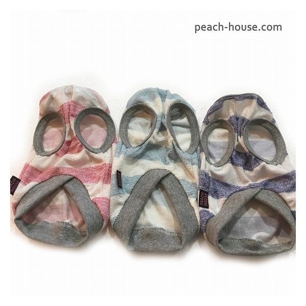 【クールバンブーパイル】ボーダータンク(DS〜DXLサイズ)|peach-house2|04